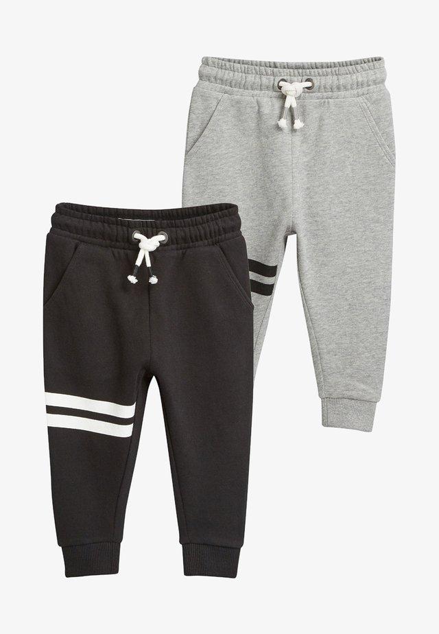 2 PACKS - Spodnie treningowe - black