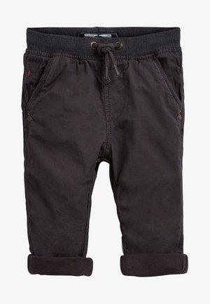 LINED - Pantalon classique - grey