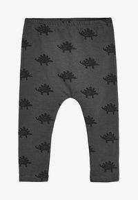 Next - DINO - Leggings - Trousers - grey - 0