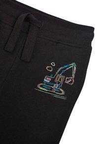 Next - BLACK FLURO DIGGER JOGGERS (3MTHS-7YRS) - Pantaloni sportivi - black - 2