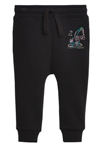 Next - BLACK FLURO DIGGER JOGGERS (3MTHS-7YRS) - Pantaloni sportivi - black - 0