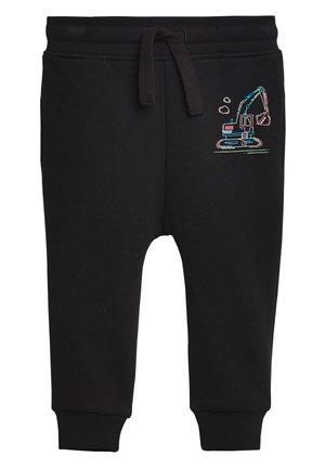 BLACK FLURO DIGGER JOGGERS (3MTHS-7YRS) - Teplákové kalhoty - black