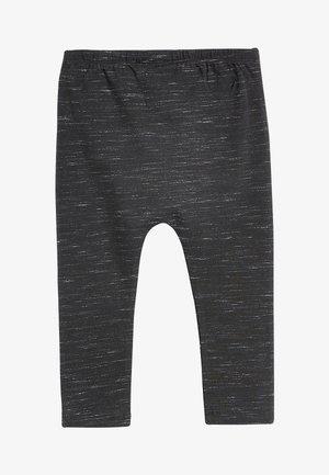 BLACK TEXTURED LEGGINGS (3MTHS-7YRS) - Leggings - Trousers - black