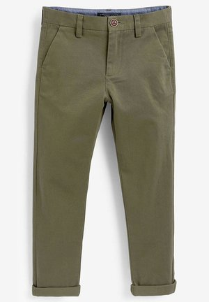 KHAKI CHINO TROUSERS (3-16YRS) - Chinos - green