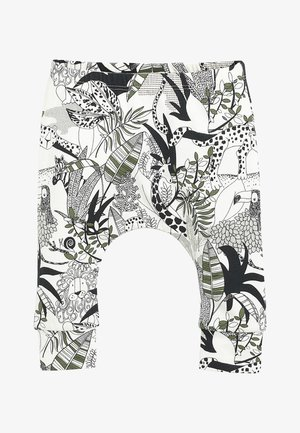 MONOCHROME 3 PACK STRETCH ANIMAL LEGGINGS (0MTHS-3YRS) - Legging - white