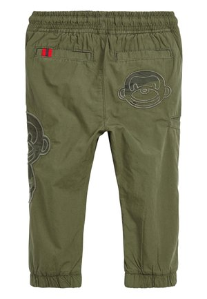 KHAKI MONKEY TROUSERS (3MTHS-7YRS) - Trousers - green