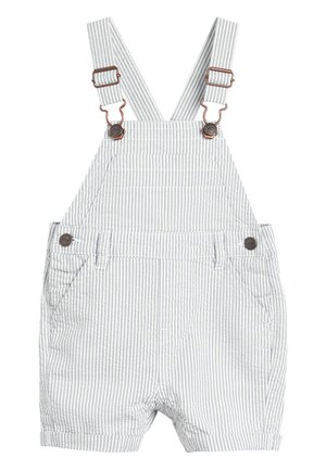 BLUE/WHITE STRIPE DUNGAREES (3MTHS-7YRS) - Tuinbroek - blue