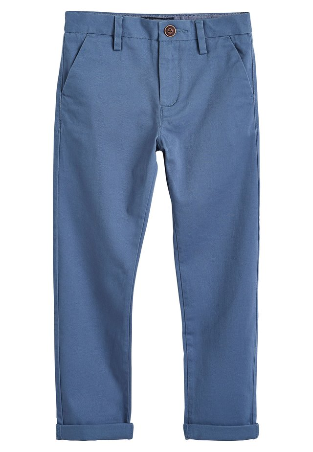 BLUE CHINO TROUSERS (3-16YRS) - Trousers - blue