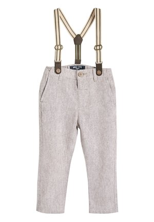 STONE FORMAL TROUSERS WITH BRACES (3MTHS-7YRS) - Kalhoty - off-white