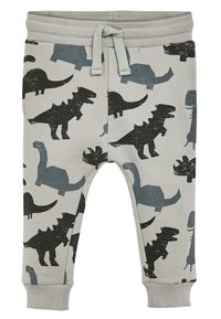 Next - GREY DINO JOGGERS (3MTHS-7YRS) - Tracksuit bottoms - grey - 0