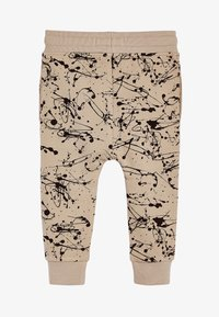 Next - STONE CEMENT SPLAT PRINT JOGGERS (3MTHS-7YRS) - Tracksuit bottoms - beige - 1