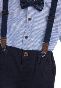Next - BLUE SHIRT, SHORTS, BOW TIE AND BRACES SET (3MTHS-7YRS) - Shirt - blue - 2