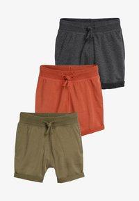 Next - MULTI SHORTS THREE PACK - Shorts - black - 0