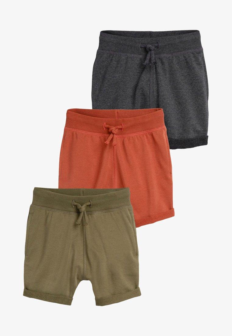 Next - MULTI SHORTS THREE PACK - Shorts - black
