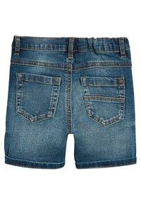 Next - Jeans Shorts - mottled blue - 1
