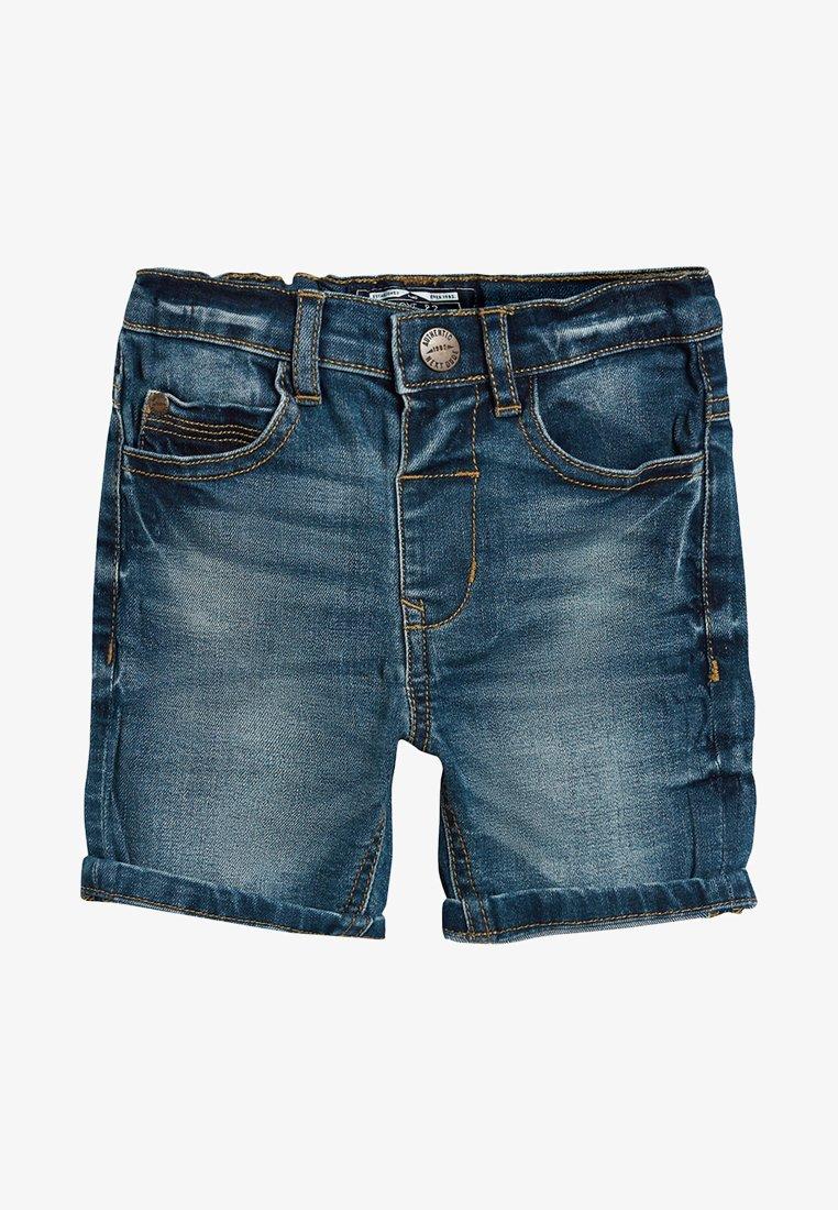 Next - Jeans Shorts - mottled blue