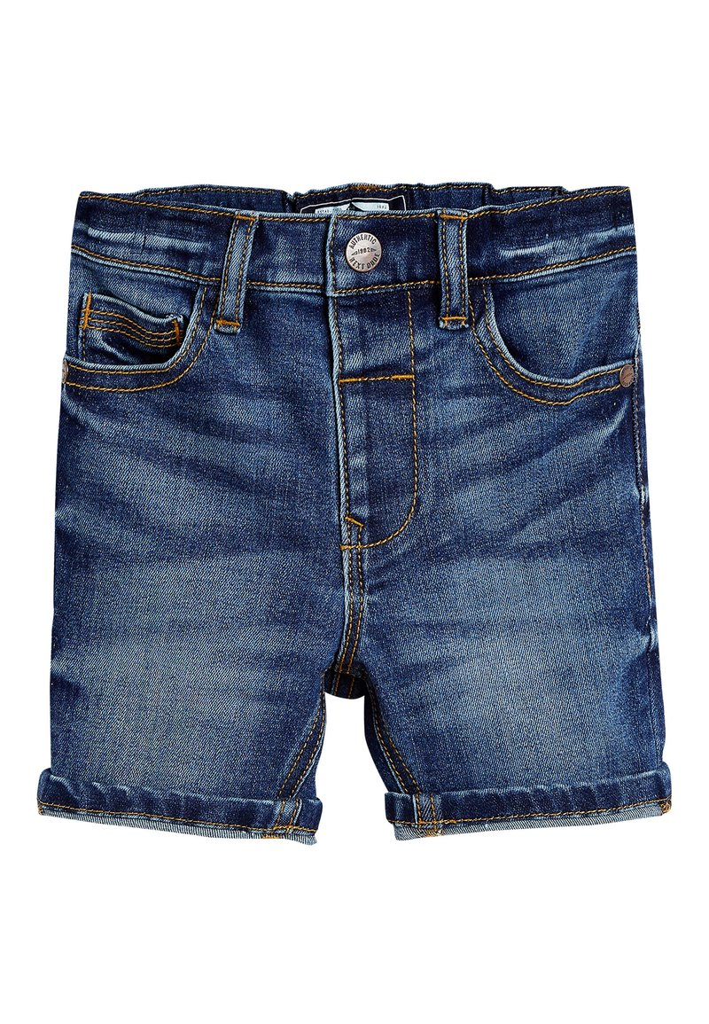 Next - BLUE DENIM SHORTS (3MTHS-7YRS) - Shorts vaqueros - blue