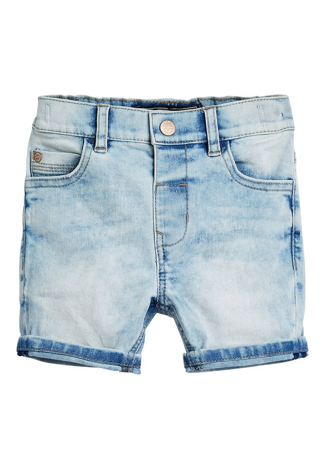 BLUE DENIM SHORTS (3MTHS-7YRS) - Shorts vaqueros - light blue