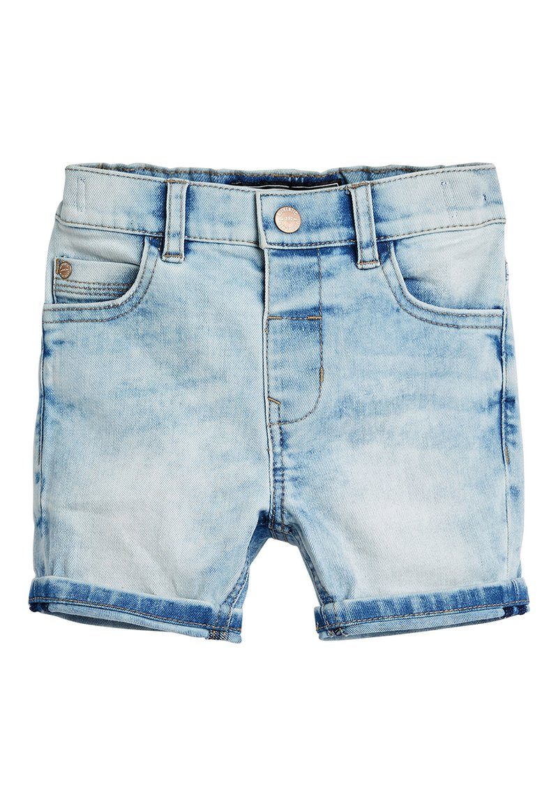 Next - BLUE DENIM SHORTS (3MTHS-7YRS) - Shorts vaqueros - light blue