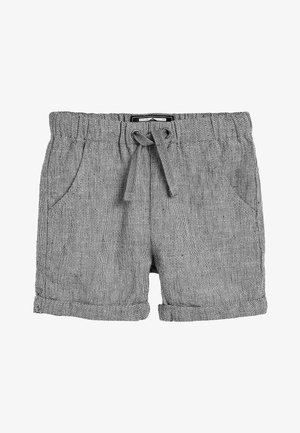 MULTI 3 PACK LINEN BLEND SHORTS (3MTHS-7YRS) - Shortsit - grey
