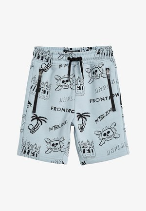 BLUE PRINT SHORTS (3-16YRS) - Shorts - blue