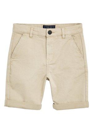 STONE LONGLINE CHINO SHORTS (3-16YRS) - Shorts - beige