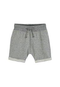 Next - STRIPE/PLAIN 3 PACK SHORTS (3MTHS-7YRS) - Shorts - blue - 1