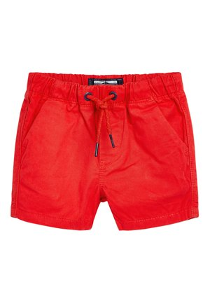 RED PULL-ON SHORTS (3MTHS-7YRS) - Kraťasy - red