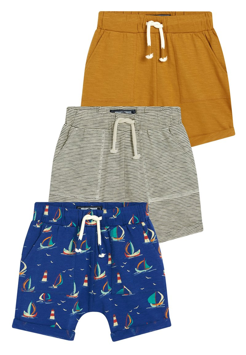 Next - MULTI 3 PACK - Shorts - blue