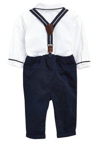 Next - Kalhoty - dark blue/white - 1