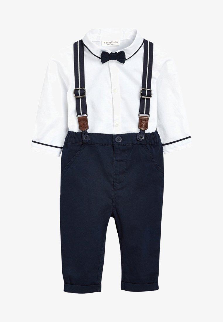 Next - Kalhoty - dark blue/white