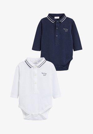 2PACK  - Polo - dark blue/white