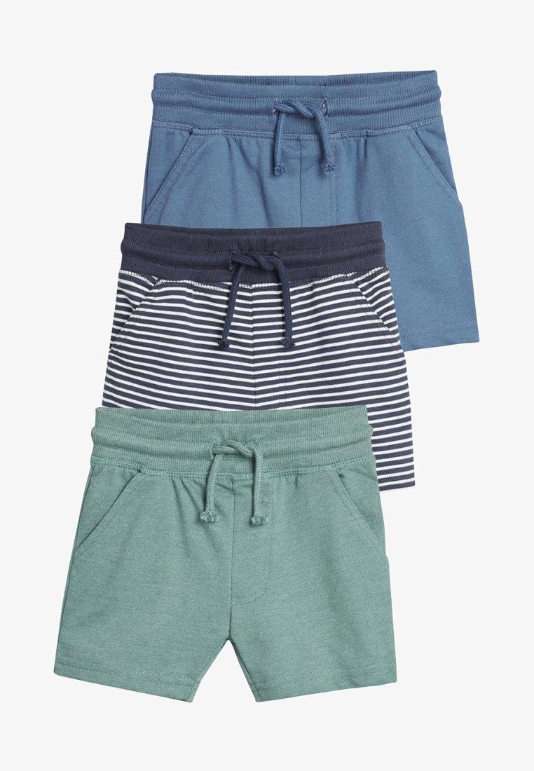 Next - THREE PACK - Shorts - blue