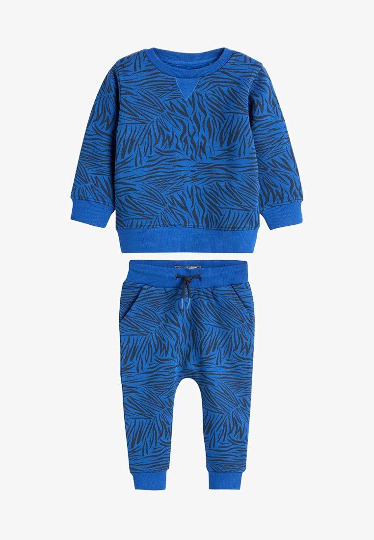 Next - SET - Sweatshirt - blue