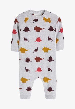 DINOSAUR ROMPER - Overall / Jumpsuit - grey