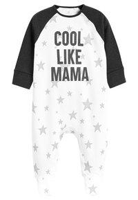 Next - 2 PACK - Pyjama - white - 1