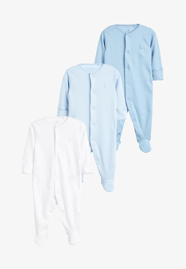 3 PACK  - Piżama - blue