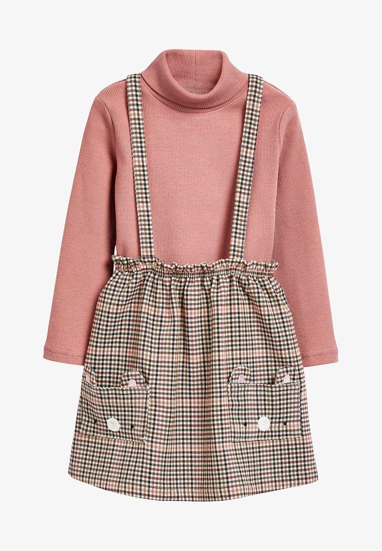 Next - SET - A-line skirt - pink