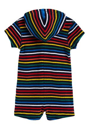 NAVY STRIPE TOWELLING ALL-IN-ONE (3MTHS-7YRS) - Kombinezon - red