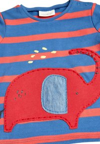 Next - RED ELEPHANT T-SHIRT AND JOGGERS TWO PIECE SET (0MTHS-2YRS) - Tracksuit bottoms - red - 6