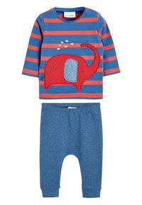 Next - RED ELEPHANT T-SHIRT AND JOGGERS TWO PIECE SET (0MTHS-2YRS) - Tracksuit bottoms - red - 0
