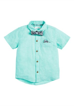 MINT SHORT SLEEVE SHIRT WITH BOW TIE (3MTHS-7YRS) - Camicia - blue