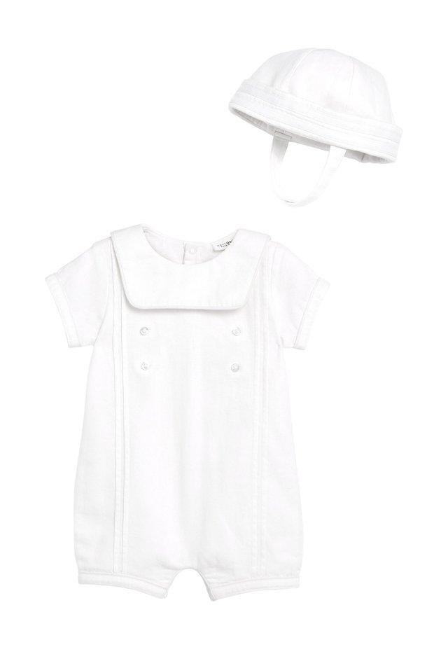 SET - Hat - white