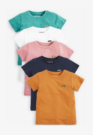 5 PACK  - Basic T-shirt - white