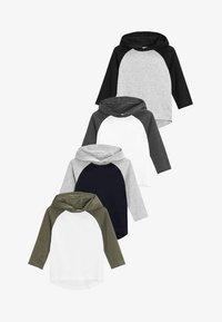 Next - 4 PACK - Pitkähihainen paita - grey - 0