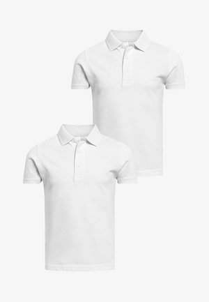 2 PACK - Polo shirt - white