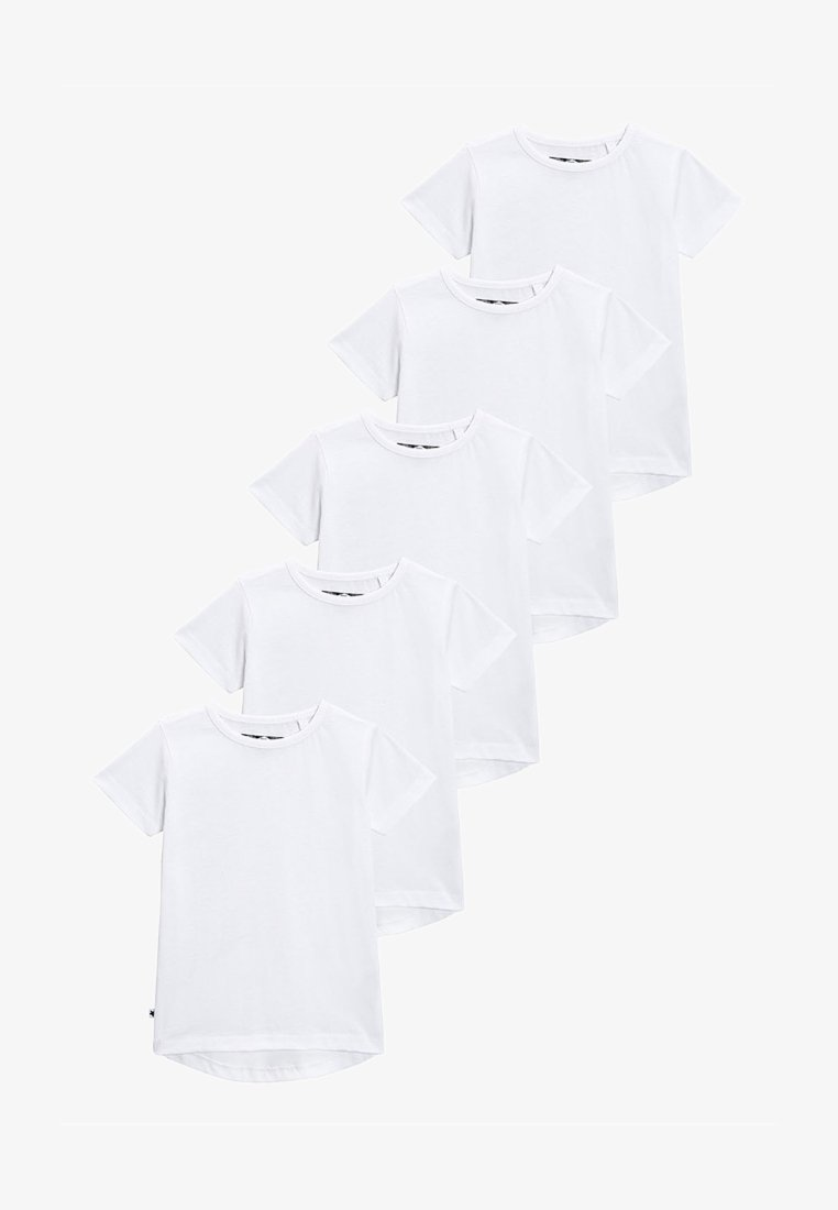 Next - FIVE PACK  - T-Shirt basic - white