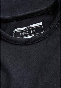 Next - 2 PACK - T-shirt basic - black - 2