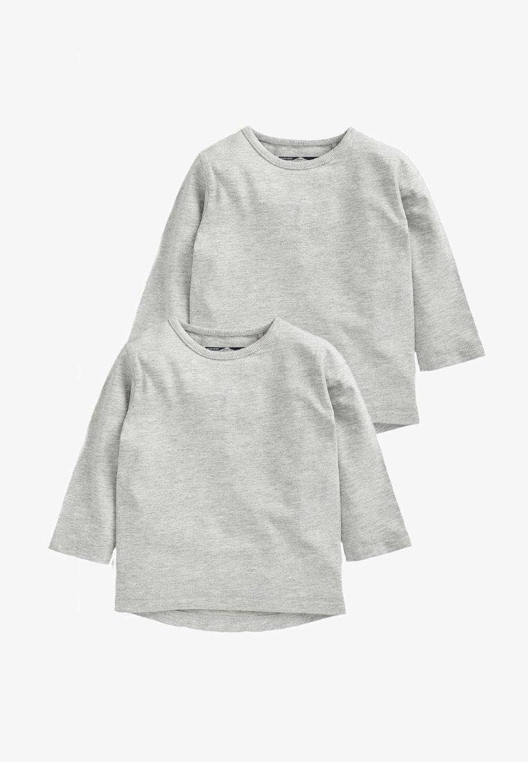 Next - 2 PACK - Langarmshirt - gray