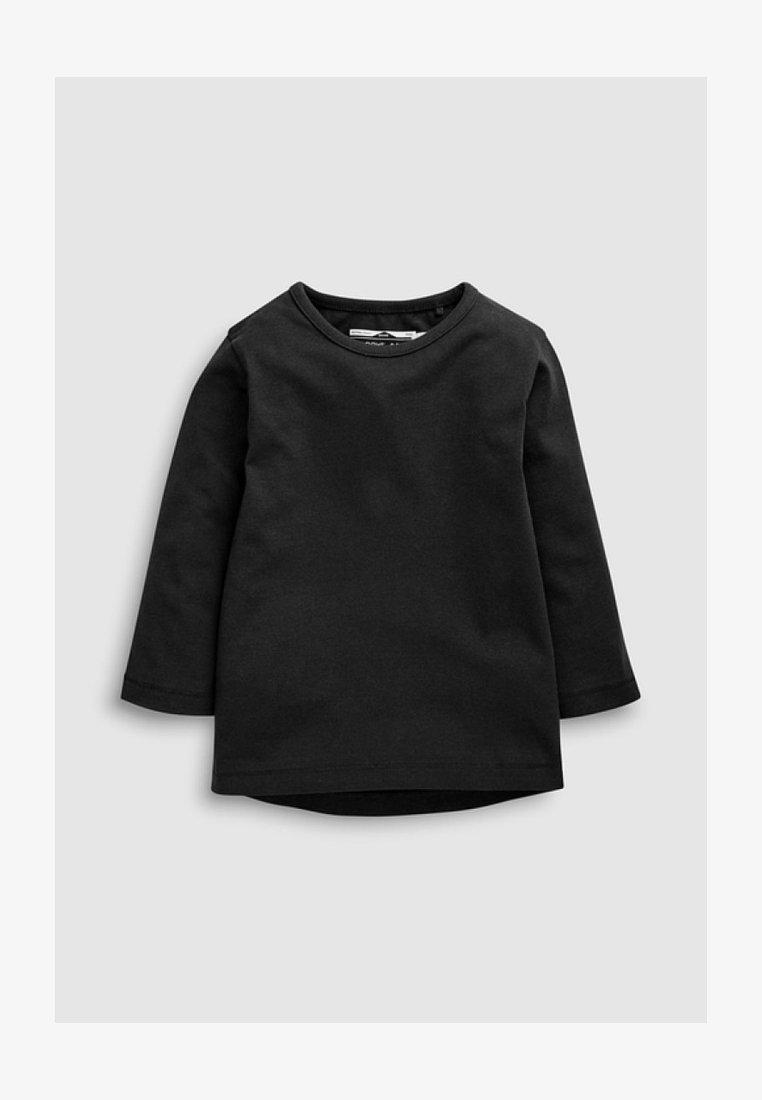 Next - 2 PACK - Langarmshirt - black